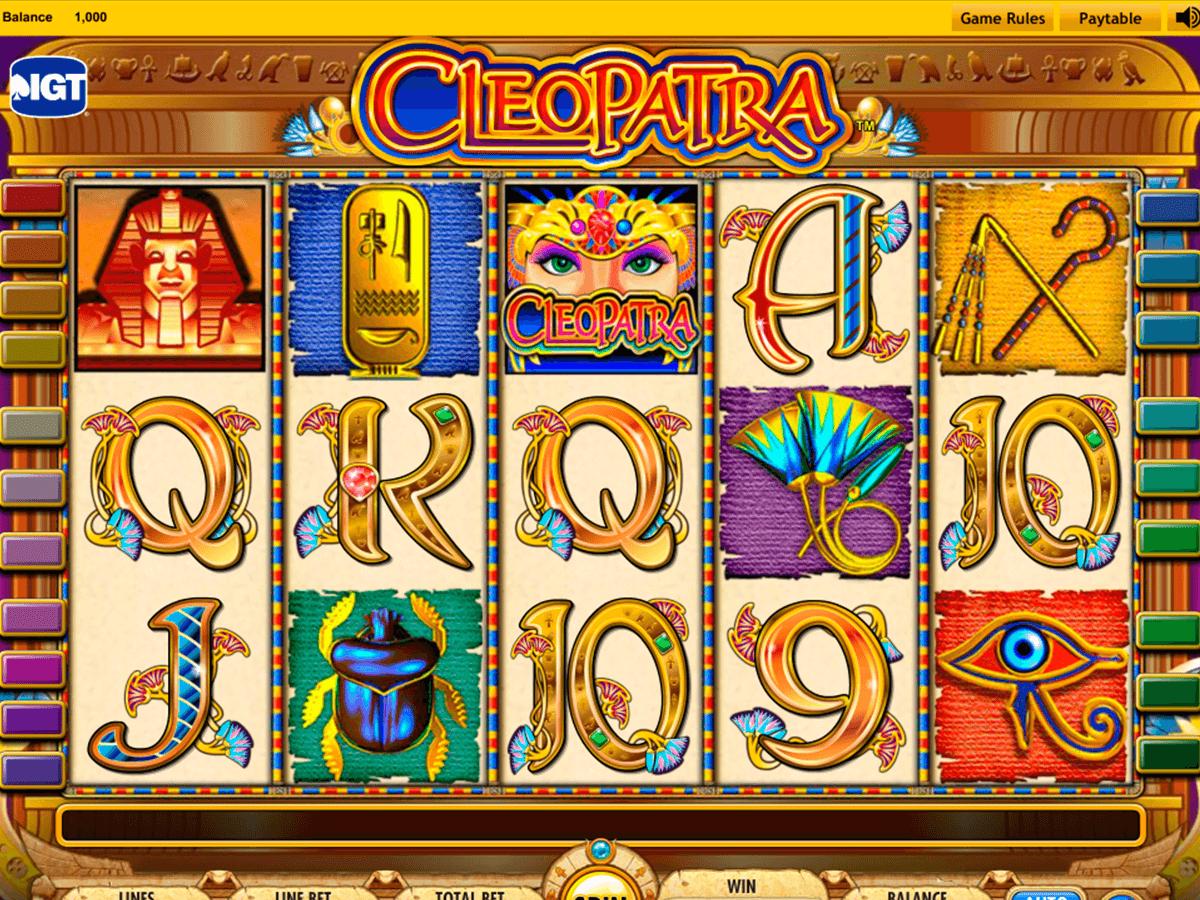 Machines à sous gratuites Cleopatra